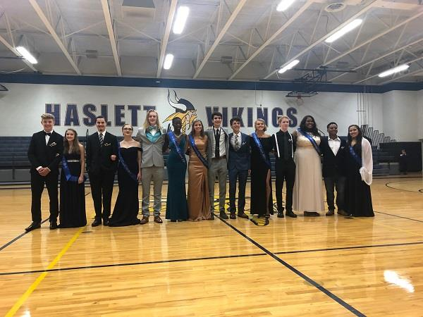 Haslett High School Homecoming Court