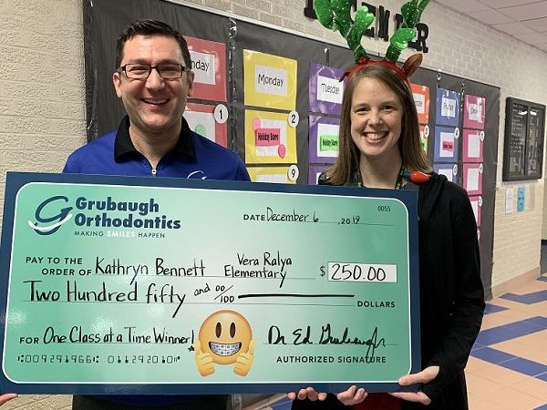 Ralya Teacher Awarded $250!