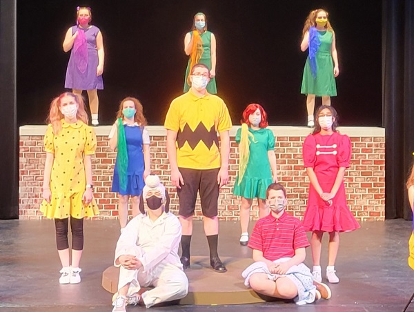 "High School Students Rehearse ""Charlie Brown"""