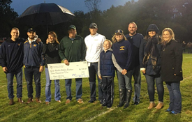Athletic Boosters Receive Donation