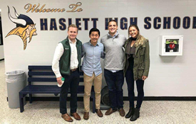 MSU Business Scholars Visit HHS