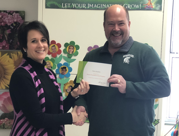 Wilkshire Teacher Receives Classroom Grant