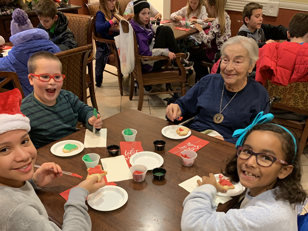 Ralya Students Visit Assisted Living Home