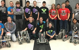 Robotics Teams Earn Spots in Tournament