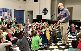 Author Visits Murphy