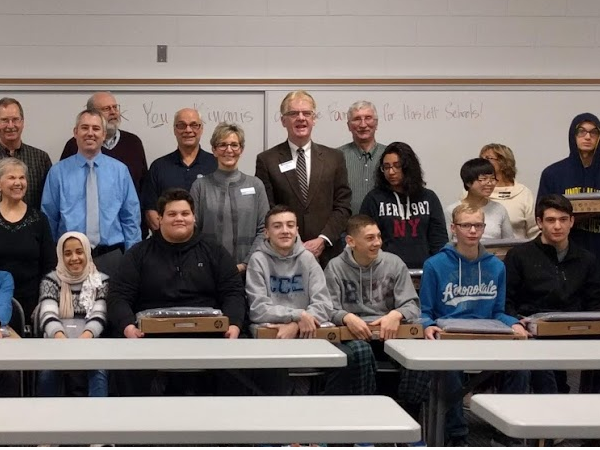 Haslett Students Receive Chromebooks