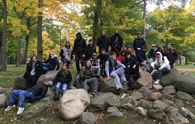 HHS Students Learn About Rock Formations