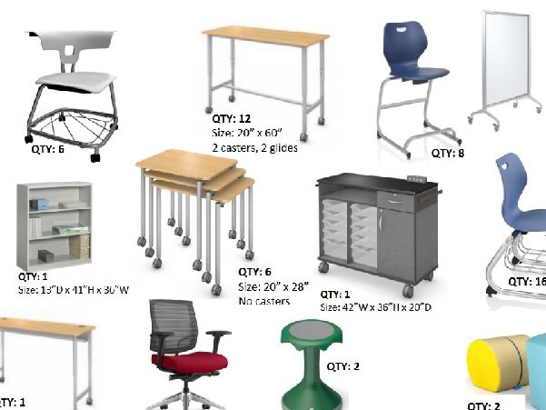 New Furniture Planned for Classrooms
