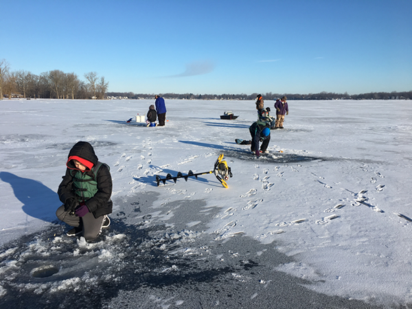 Middle School Ice Fishing Derby