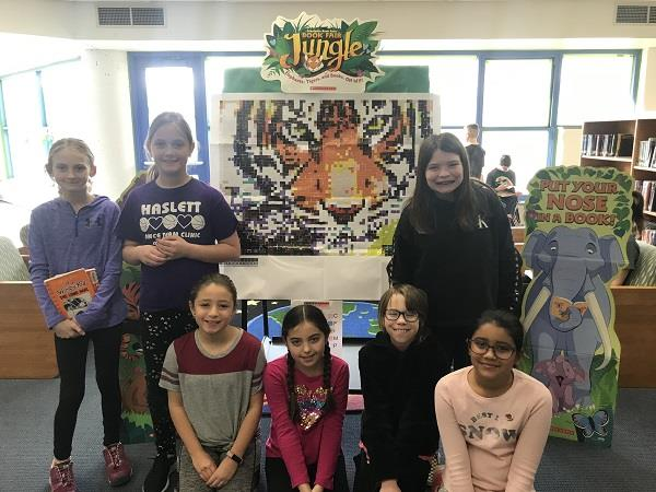 Murphy Students Create Sticker Mural