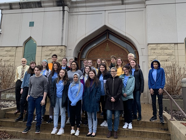 Muslim Student Association Visits Mosque
