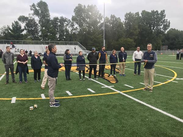 Stadium Ribbon Cutting Ceremony