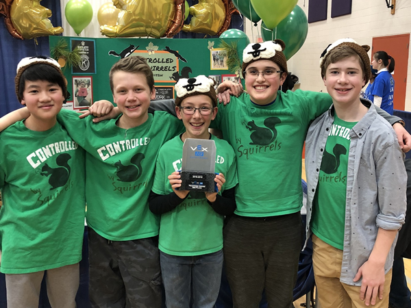 Haslett Robotics Wins at State Tournament