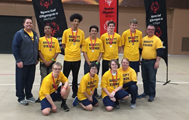 Unified Basketball Team Finishes Second!