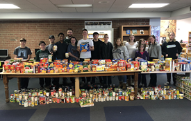 High School Turkey & Food Drive