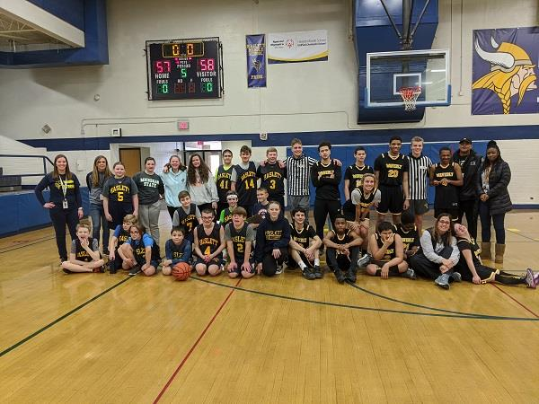 Middle School Rallies Around Unified Team