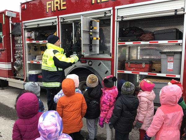 Fire Department Visits Wilkshire