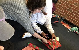 HHS Student Council Collects Gifts for Needy