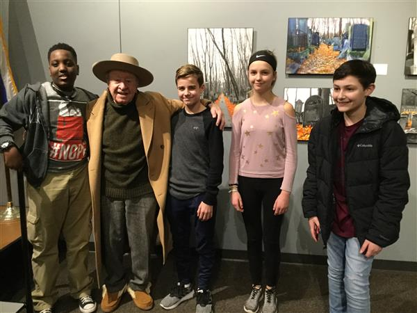 7th Graders visit the Holocaust Museum